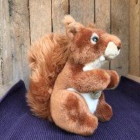 Eekhoorn - ca. 18 cm - eco-vriendelijk