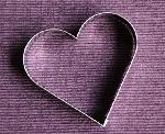 Hart - uitsteekvormpje