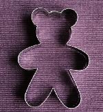 Knuffelbeer - uitsteekvormpje